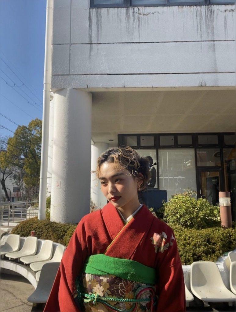 振袖ナイスコーディネートvol.1 akariちゃん